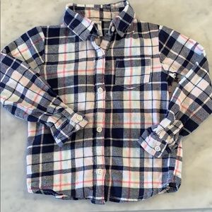 Carters flannel